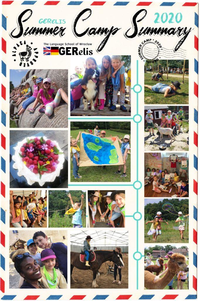 Archiwalne zdjęcie przedstawiające podsumowanie Summer Camp 2020 w GERelis Wrocław.