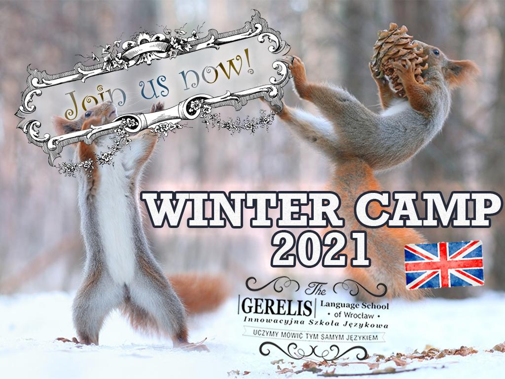 Ferie językowe z angielskim we Wrocławiu Winter Camp 2021