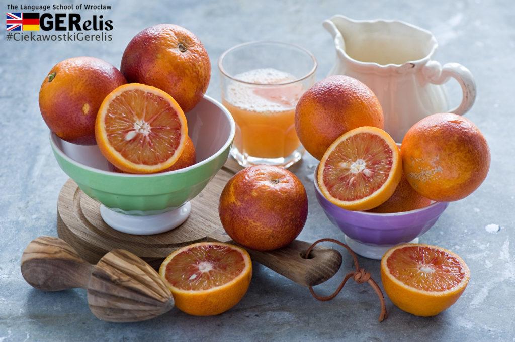 """Ciekawostka GERelis #1. Pomarańcze. Skąd wzięła się nazwa owocu i koloru. Czy kolor pomarańczowy """"istniał"""" przed przywiezieniem owoców pomarańczy do Europy?"""