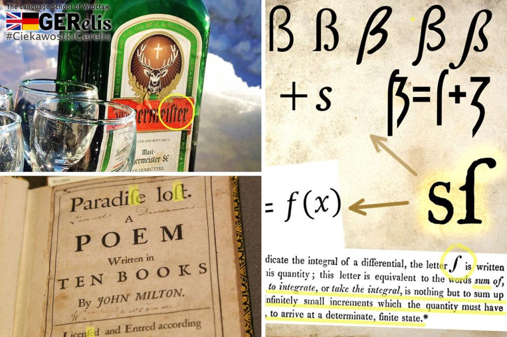 """Ciekawostka Gerelis #16. Jak ma związek """"długie s"""" z symbolem całkowania? Gdzie podziała się """"zagubiona"""" litera alfabetu?"""