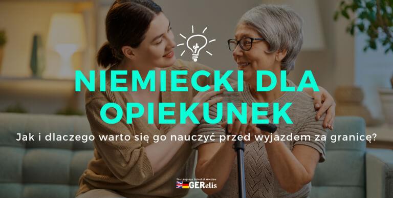 Niemiecki dla opiekunek osób starszych wrocław