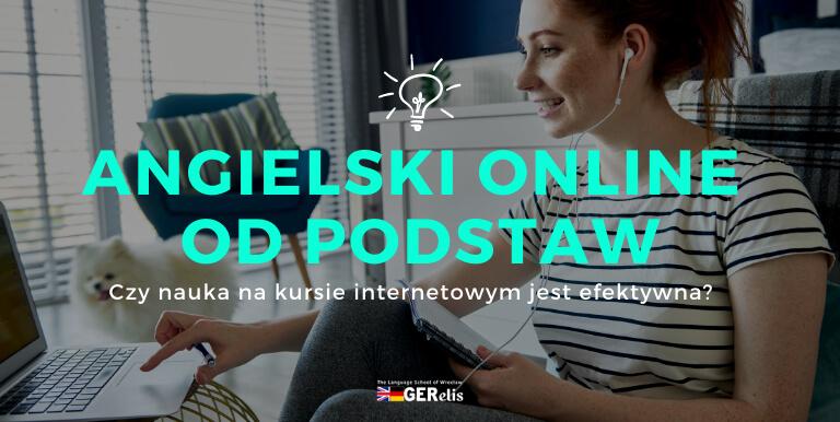 nauka angielskiego online od podstaw